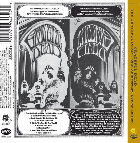 Grateful Dead (50th Anniversary Deluxe Edition) by WARNER BROS.