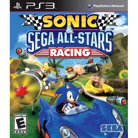 Sonic & Sega All-Star Racing, Sega, PlayStation 3, 010086690361 (Sonic Halloween Racing)