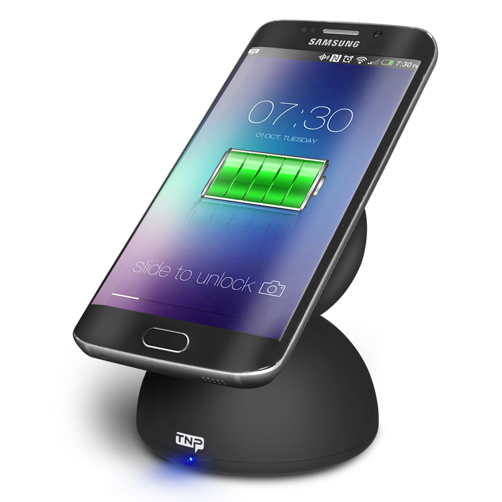 Wireless Charger Charging Pad Stand Station Dock   3 Coil Power Supply  Design Supports Fast Charge