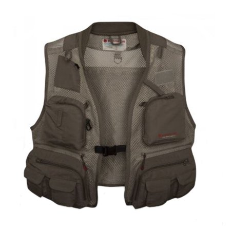 Redington First Run Fly Fishing Fast Wicking Mesh Vest w/ Pockets, Large/X-Large
