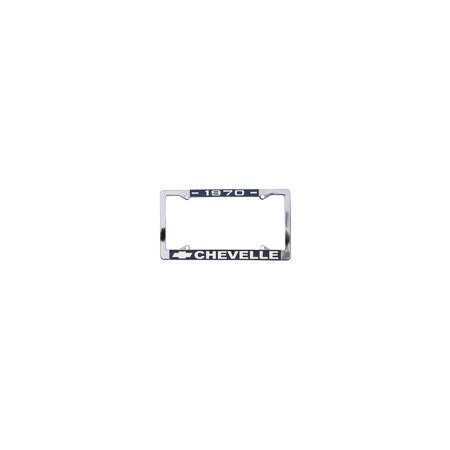 Eckler's Premier  Products 50-211999 Chevelle License Plate Frames,