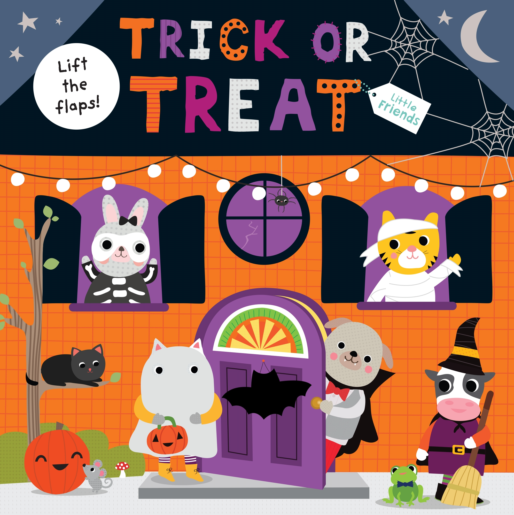 Little Friends: Trick or Treat : A lift-the-flap book