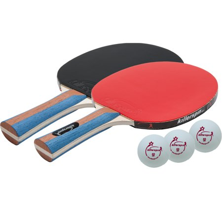 Killerspin JET SET 2 Ping Pong Paddle Set with 3 Balls – Beginner ...