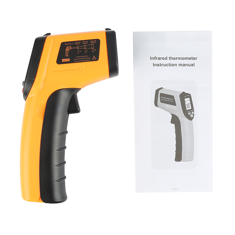 GM320 Non-contact LCD IR Laser Infrared Gun Thermometer Temperature Meter Tester MZ