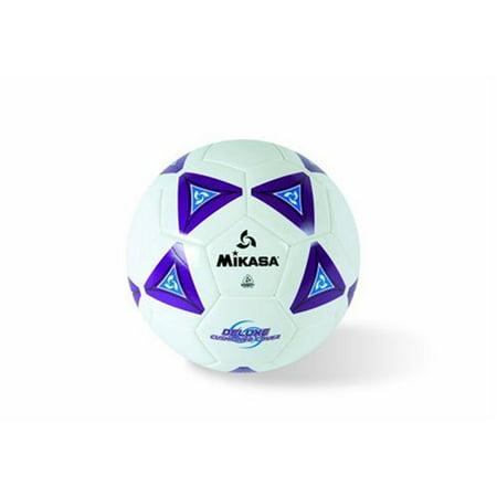 - Mikasa Soccer Ball, Size 4, Black/Neon Green, Butyl bladder for maximum air retention By Mikasa Sports