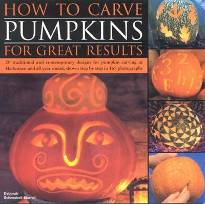 How to Carve Pumpkins for Great Results