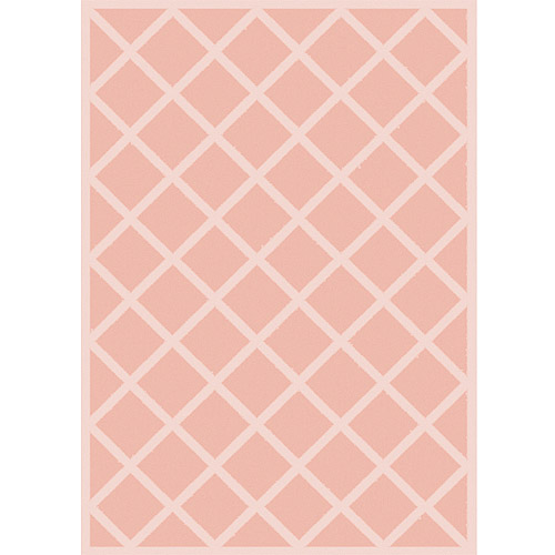 Home Dynamix Kids Image Woven Rug, Pink