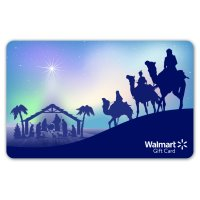 Nativity Blue Walmart Gift Card