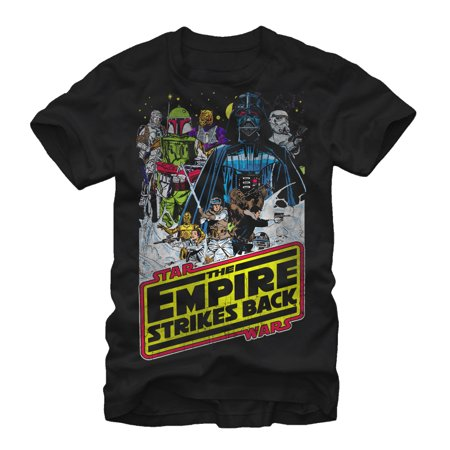Star Wars Tshirts (Star Wars Men's Empire Strikes Back)