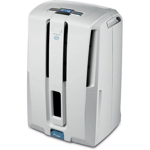 DeLonghi 45-pint Dehumidifier with Patented Pump