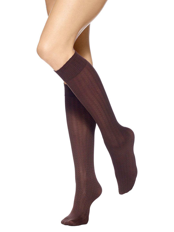 Four-Pack Assorted Knee-High Socks
