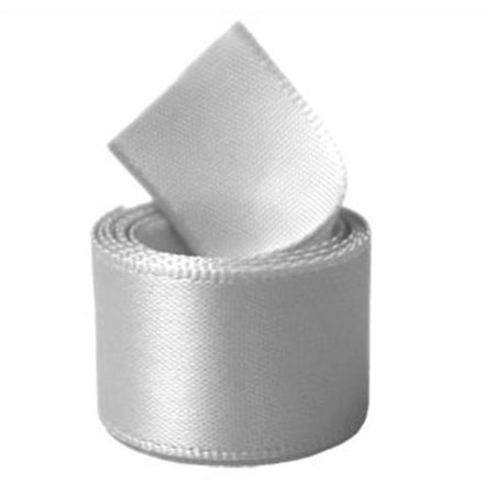 Papilion R07430212000720YD .5 in. Single-Face Satin Ribbon 20 Yards - Shell Grey