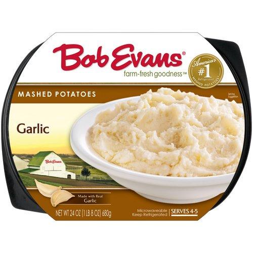 Bob Evans Garlic Mashed Potatoes 24 Oz Walmart