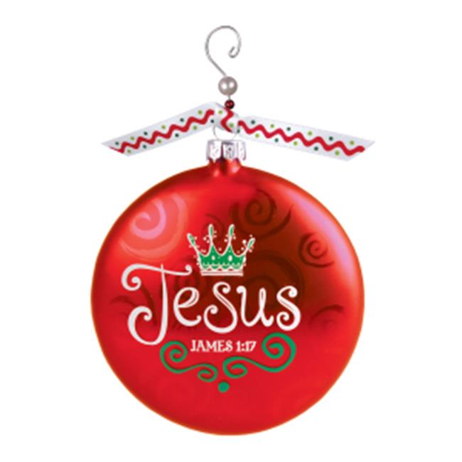 Lighthouse Christian Products 192242 Ornament-Jesus - No. 12619 by Lighthouse Christ