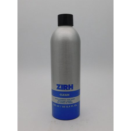 Alpha Hydroxy Serum (Zirh Clean Alpha-Hydroxy Face Wash 8.4 Oz )