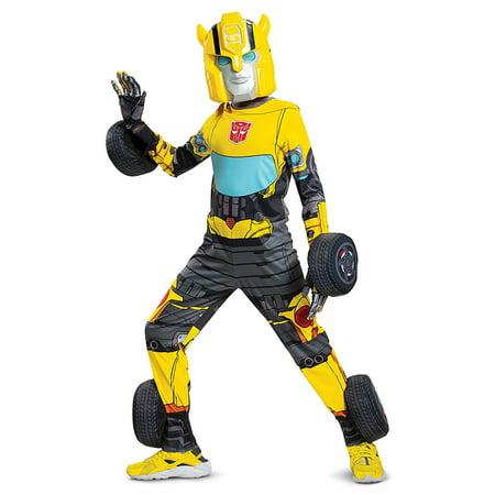 Transformers Kids Bumblebee Converting Costume - image 4 de 7