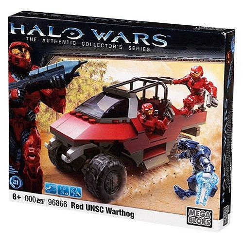 Halo Red UNSC Warthog Set Mega Bloks 96866 by