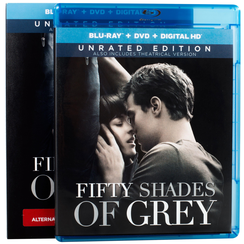 Fifty Shades of Grey, Blu-ray + DVD Combo, romance movie