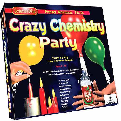 ScienceWiz Crazy Chemistry Party