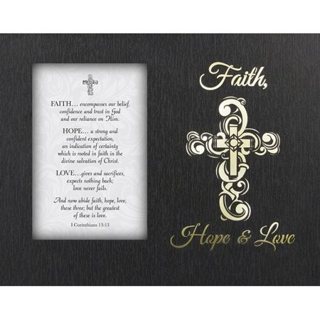 Cb Gift Faith Hope Love Picture Frame Walmartcom