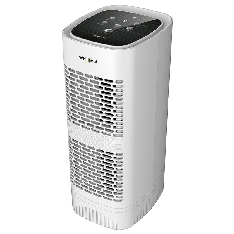 Whirlpool Whispure Air Purifier WPT60 White Medium Tower with Special Anti-bacteria Activated Charcoal Pre-filter Whishield Anti-bacteria Activated Charcoal Pre-filter