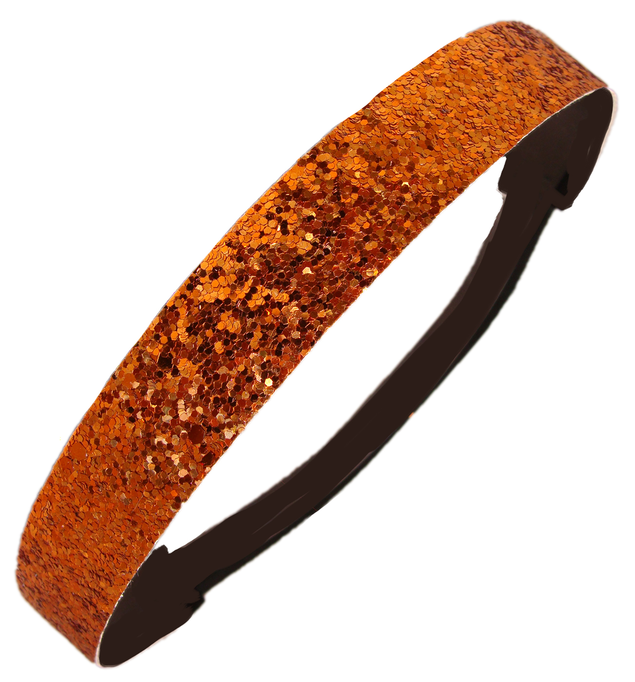 Kenz Laurenz Glitter Headband Girls Headband Sparkly Hair Head Band Orange