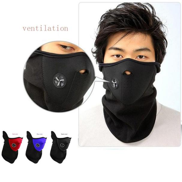 DZT1968 Wholesale Windproof Winter Outdoor Riding Cycling Warm Ski Mask Face Shield by