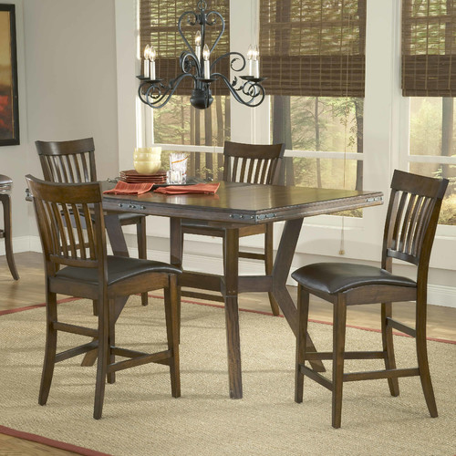 Hillsdale Furniture Arbor Hill 5 Piece Counter Height Dining Room Set by Hillsdale