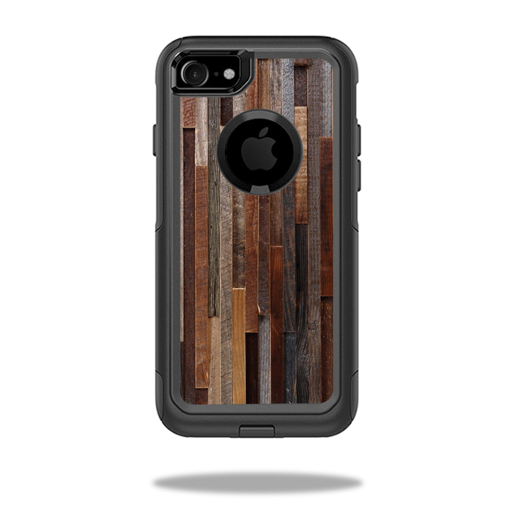 MightySkins Protective Vinyl Skin Decal for OtterBox Commuter iPhone 7 Case wrap cover sticker skins Woody