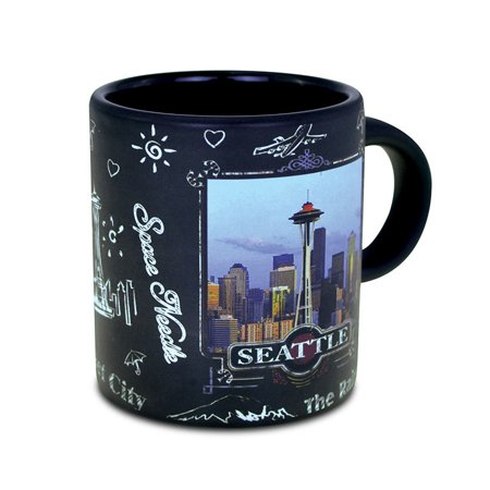 Mini Mug Seattle Skyline