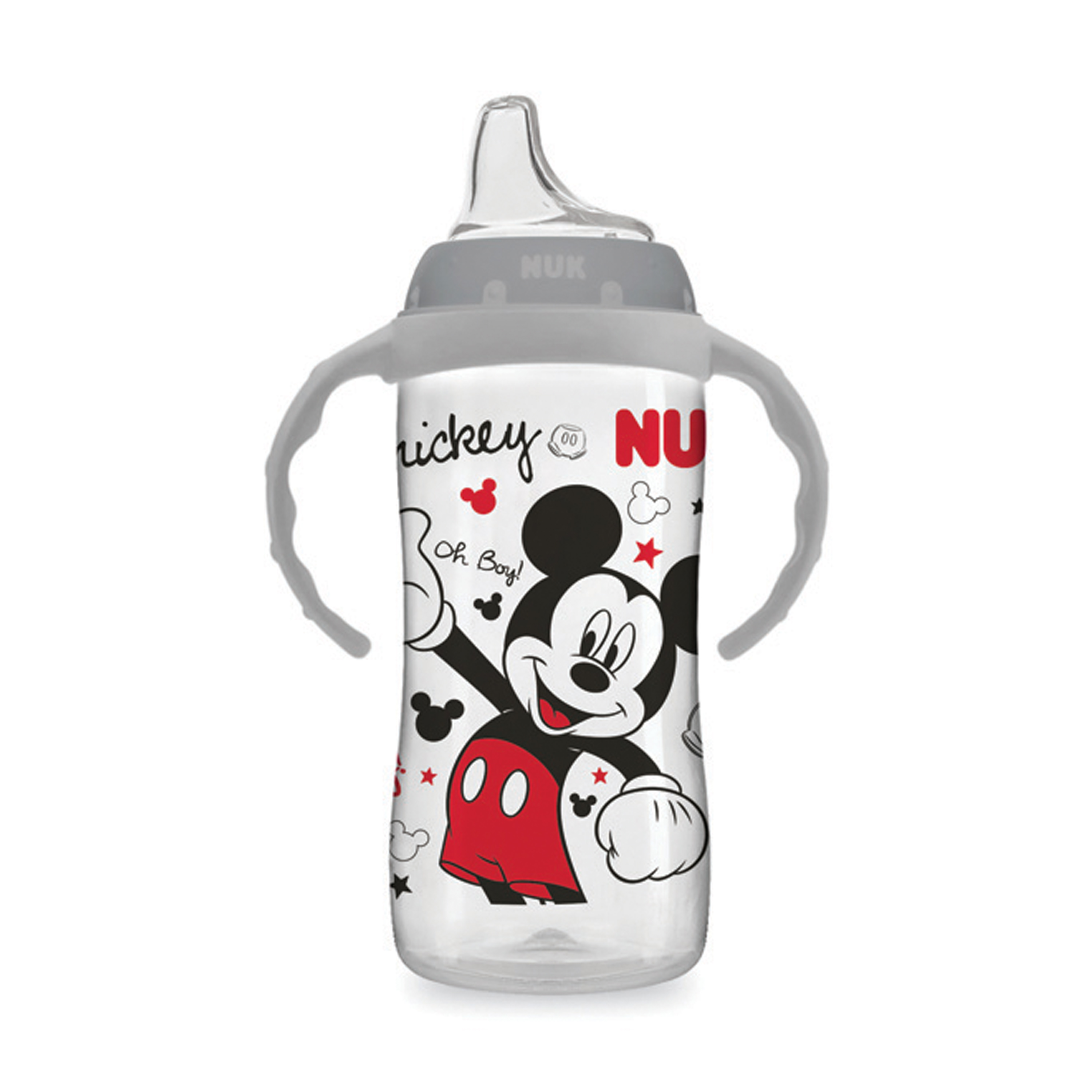 NUK Disney Large Learner Sippy Cup with Handles- Mickey Mouse, 10 oz