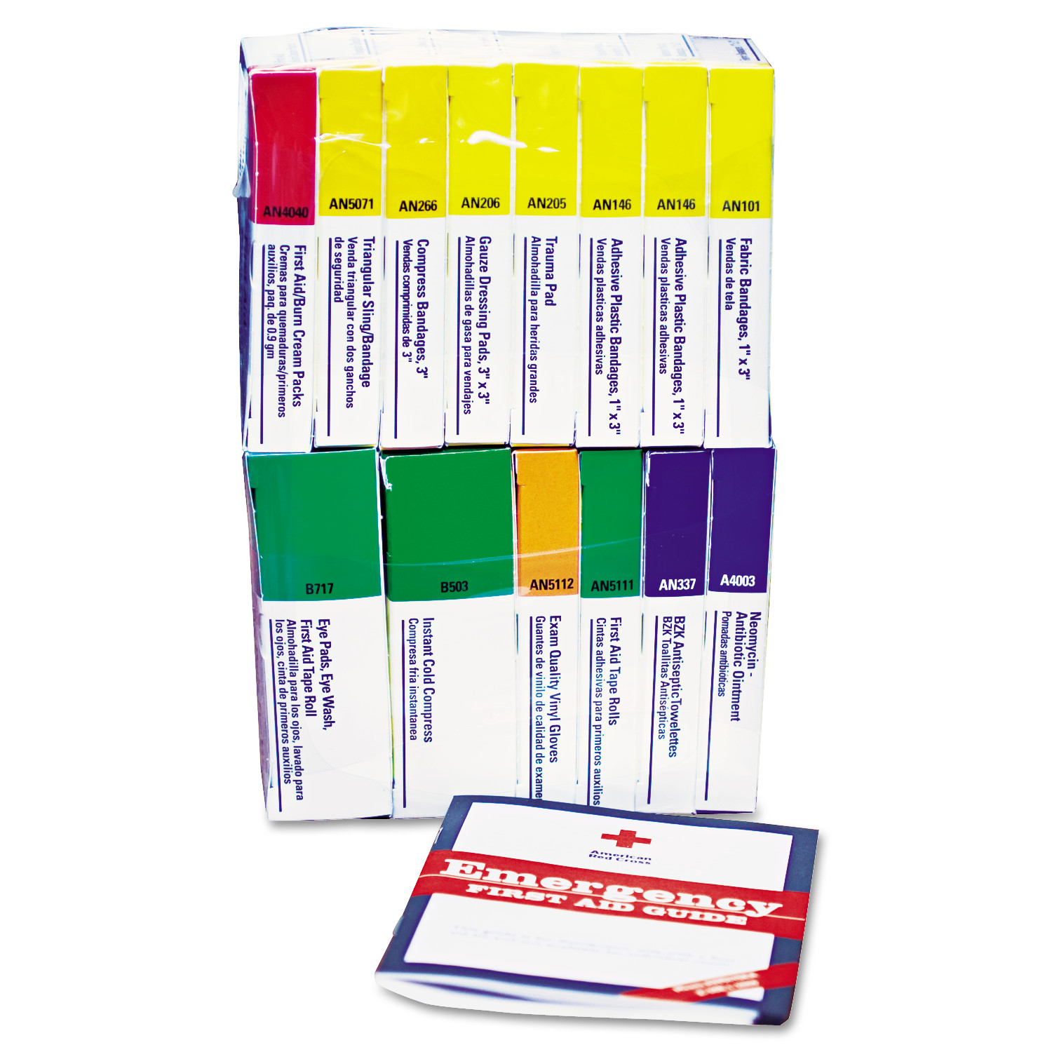 First Aid Only ANSI Compliant 16 Person First Aid Kit Refill, 83-Pieces by FIRST AID ONLY, INC.