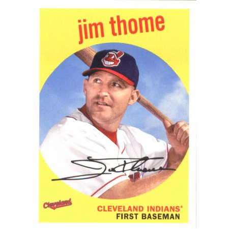 2018 Topps Archives #60 Jim Thome Cleveland Indians Baseball Card