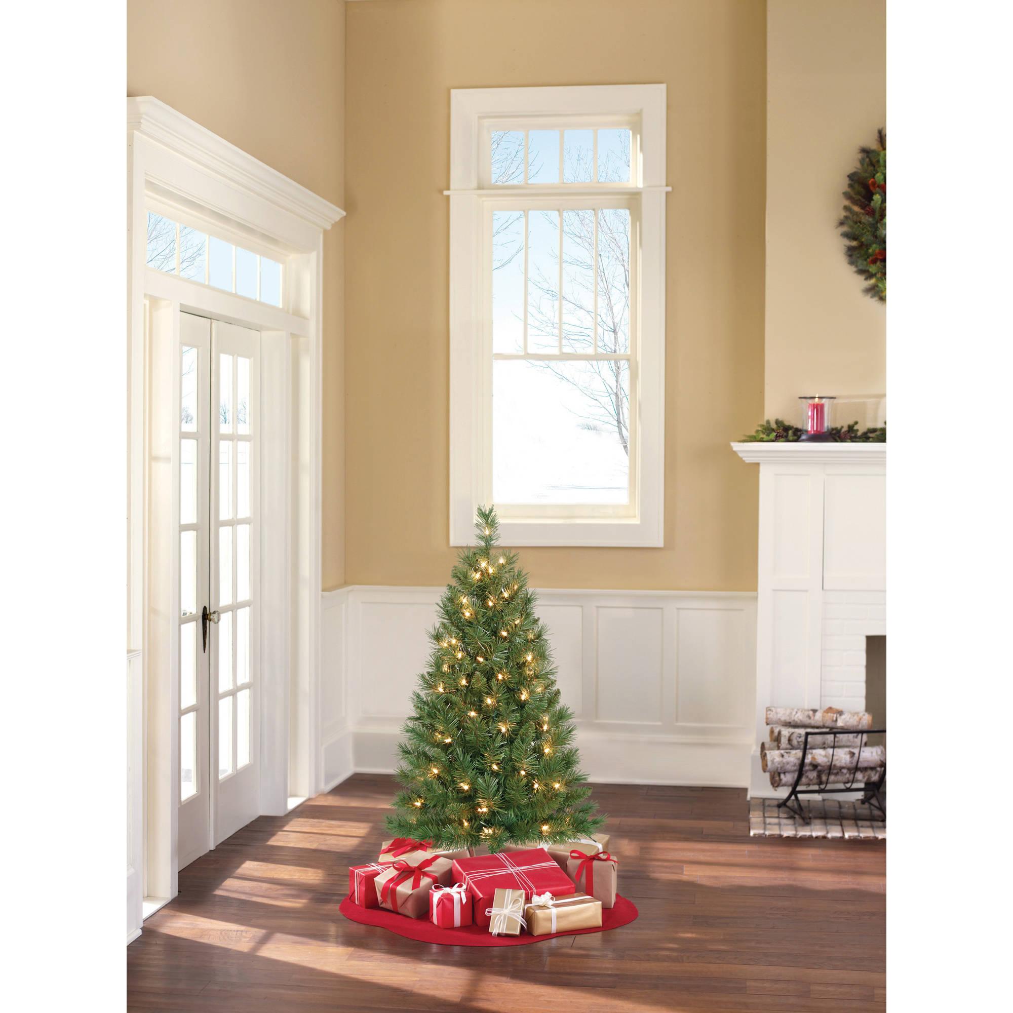 Groovy Mini Christmas Trees Walmart Com Easy Diy Christmas Decorations Tissureus