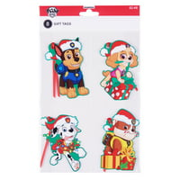 Holiday Time Paw Patrol Gift Tags, 8 Count