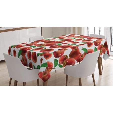 Apple Tablecloth, Rubin Variety of Apple