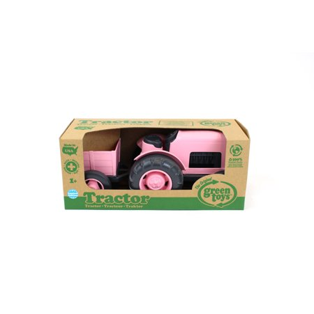 Best Green Toys Tractor - Pink deal