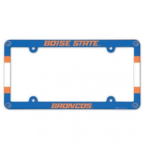 Boise State Broncos Full Color License Plate Frame