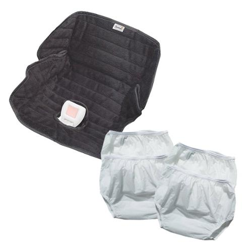 Dappi Waterproof Nylon Diaper Pants (4 Pack) with Piddle ...