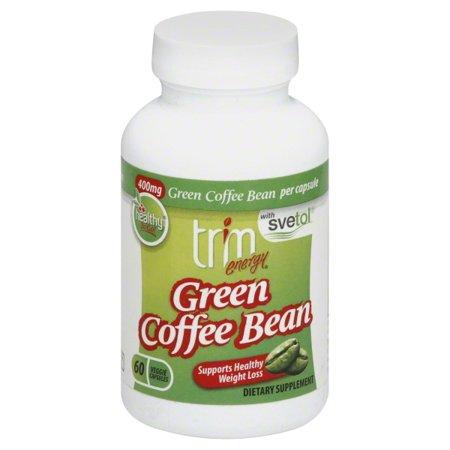 Elore Enterprises Trim Energy Green Coffee Bean 60 Ea Walmart