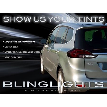 New Chevrolet Chevy Zafira Tinted Smoked Taillamps Taillights Overlays Protection Film