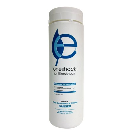 Ecoone eco-8050 Oneshock Sanitizer And Shock Combo, 2lbs.  With 64 (Sanitizer Tablets)