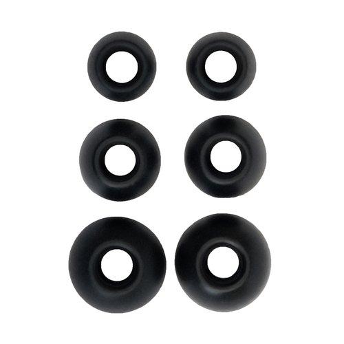 Blue Parrot 203153 Xpress Eartips - Retail Packaging - Black