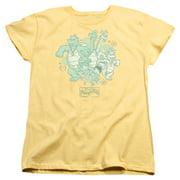 Dragon Tales Group Celebration Womens Short Sleeve Shirt