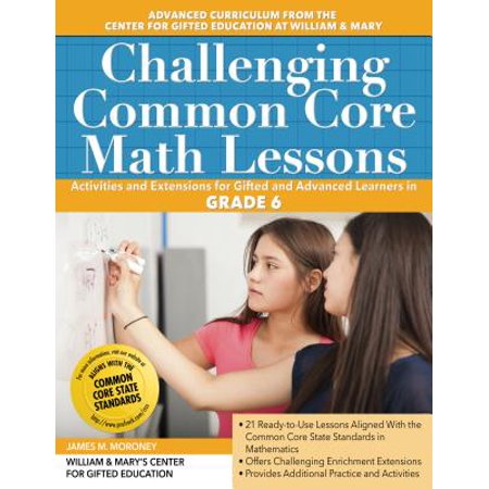 Challenging Common Core Math Lessons (Grade 6) - Halloween Math Challenge