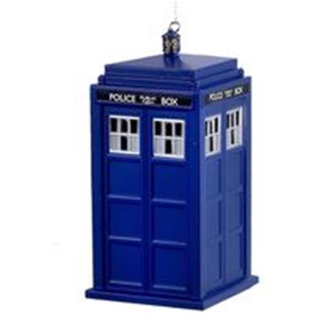 """Doctor Who 13th Doctor TARDIS 4/"""" Christmas Ornament!"""