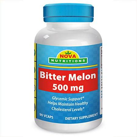 Nova Nutritions Bitter Melon 500 Mg 90 Vcaps