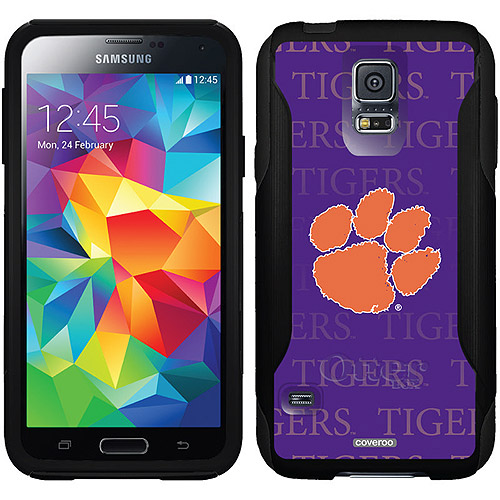 Clemson Repeating Design on OtterBox Commuter Series Case for Samsung Galaxy S5