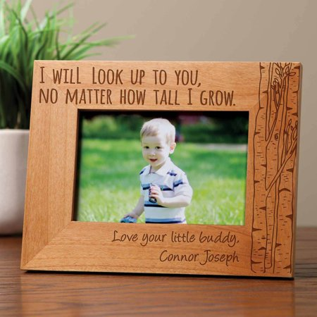 Personalized I Will Look Up To You Frame ()