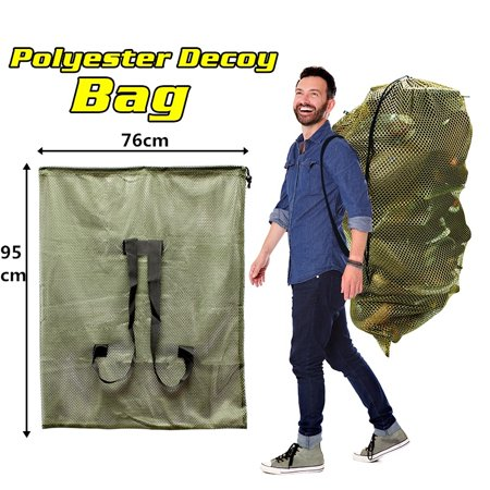 - Large Size Hunting Mesh Decoy Bag Decoy Backpack Mesh Turkey Goose Duck Decoy Bag